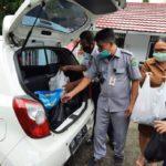 Bantuan SMA Negeri 9 Manado terhadap korban banjir Januari 2021