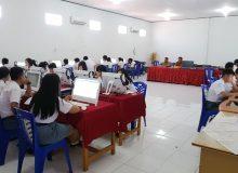 SMA N 9 Manado sukses laksanakan UNBK.