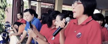 Peringatan Hari Guru Nasional SMAN 9 Manado 2016