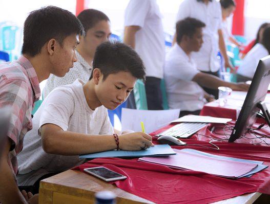 PPDB 2018, SMA Negeri 9 Manado kebanjiran pendaftar.