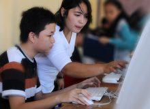 791 siswa minati SMAN 9 Manado di hari pertama PPDB online jalur regular.