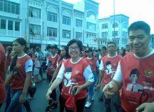 SMAN 9 Manado ikut Parade Pancasila