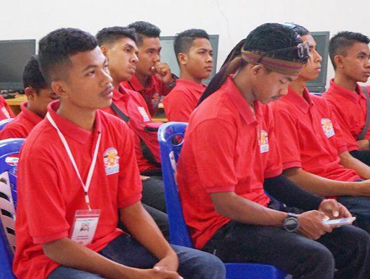 Kunjungan Pelajar dari NTT dalam program SMN 2018