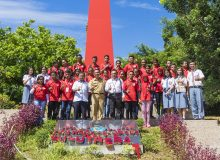 Kunjungan Pelajar dari NTT dalam program SMN